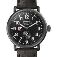 Fordham Shinola Watch, The Runwell 41mm Black Dial