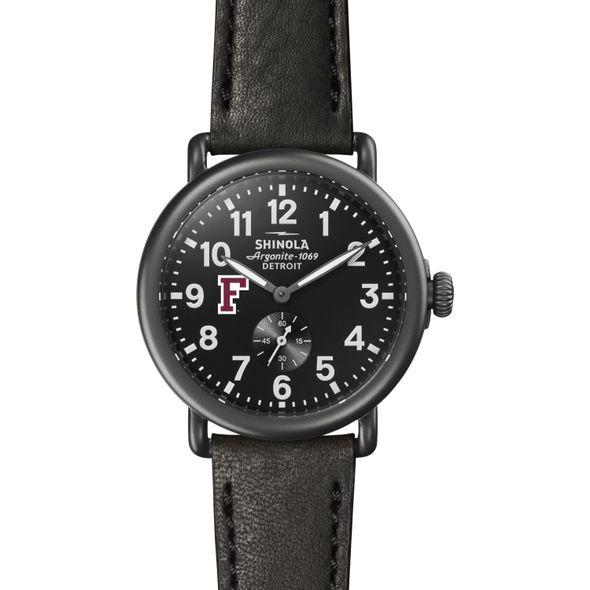 Fordham Shinola Watch, The Runwell 41mm Black Dial - Image 2