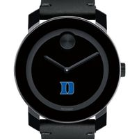 Duke University Men's Movado BOLD with Leather Strap