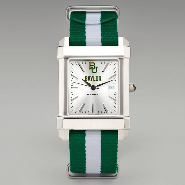 Baylor University Collegiate Watch with NATO Strap for Men - Image 2