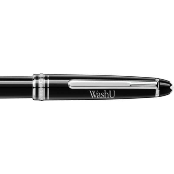 WashU Montblanc Meisterstück Classique Rollerball Pen in Platinum - Image 2