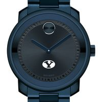 Brigham Young University Men's Movado BOLD Blue Ion with Bracelet