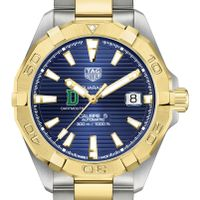 Dartmouth Men's TAG Heuer Automatic Two-Tone Aquaracer with Blue Dial