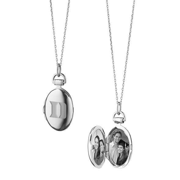 Duke Monica Rich Kosann Petite Locket in Silver