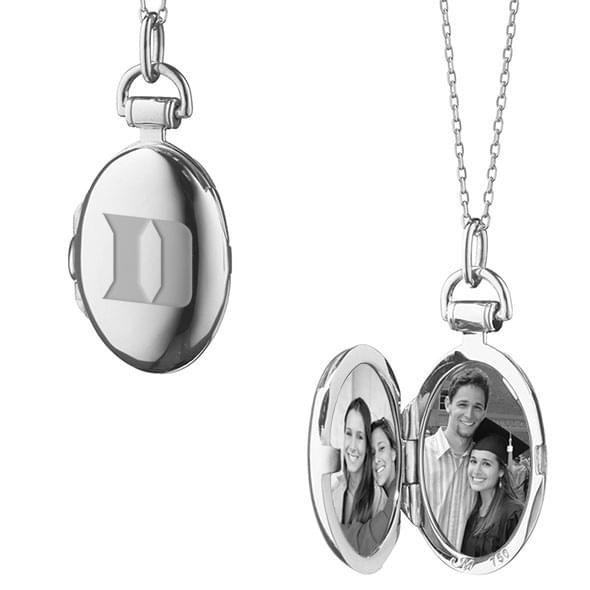 Duke Monica Rich Kosann Petite Locket in Silver - Image 2