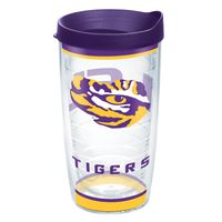 LSU 16 oz. Tervis Tumblers - Set of 4