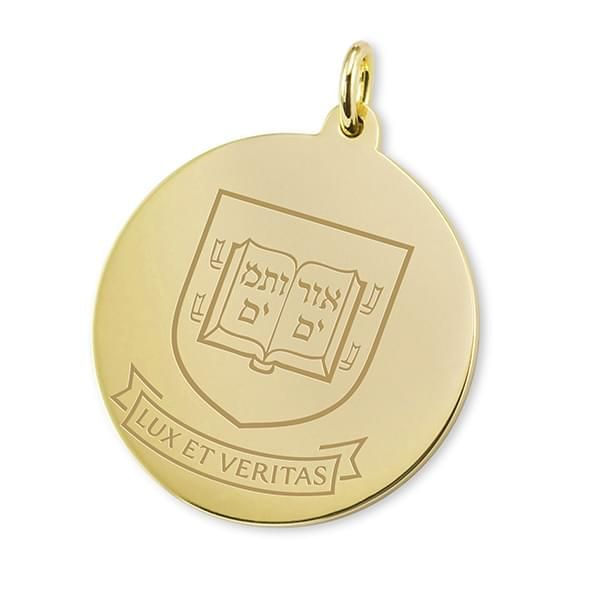 Yale 18K Gold Charm - Image 1