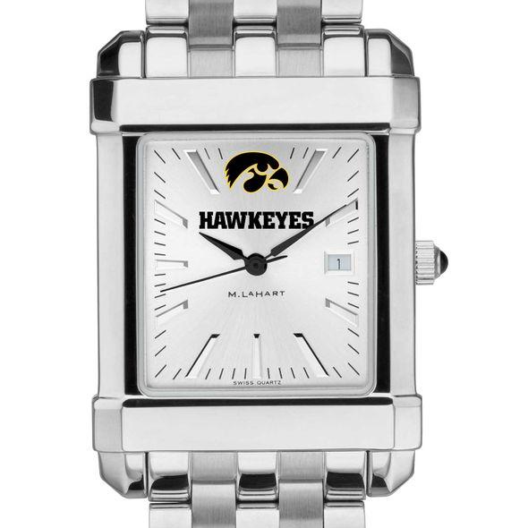 University of Iowa Men's Collegiate Watch w/ Bracelet