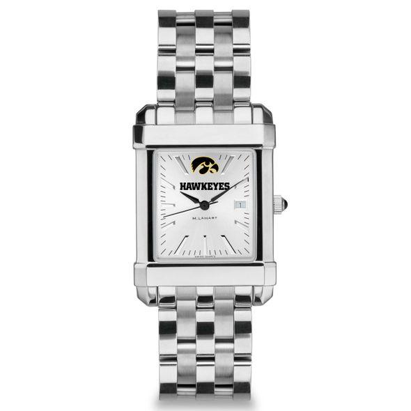 University of Iowa Men's Collegiate Watch w/ Bracelet - Image 2