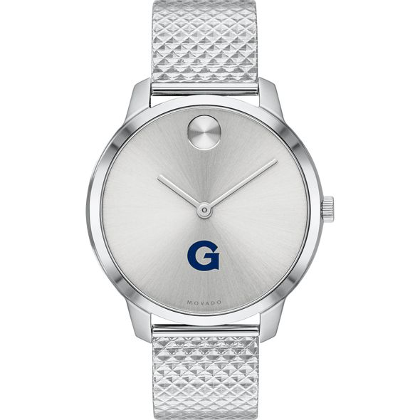 Georgetown University Women's Movado Stainless Bold 35 - Image 2