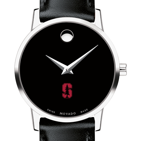 Stanford Women's Movado Museum with Leather Strap