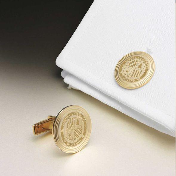 Loyola 14K Gold Cufflinks - Image 1