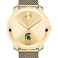 Michigan State University Women's Movado Gold Bold 36