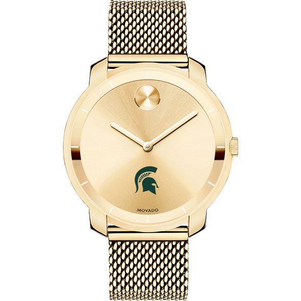Michigan State University Women's Movado Gold Bold 36 - Image 2