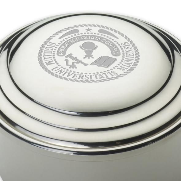 Miami University Pewter Keepsake Box - Image 2
