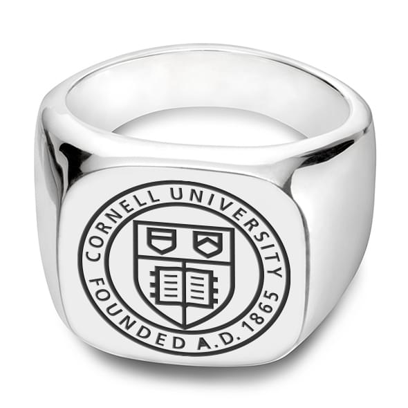 Cornell Sterling Silver Square Cushion Ring