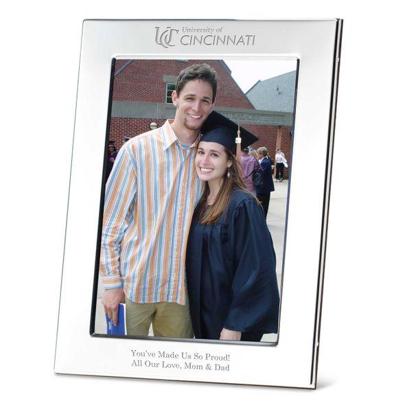 Cincinnati Polished Pewter 5x7 Picture Frame - Image 1
