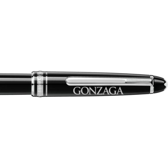 Gonzaga Montblanc Meisterstück Classique Rollerball Pen in Platinum - Image 2