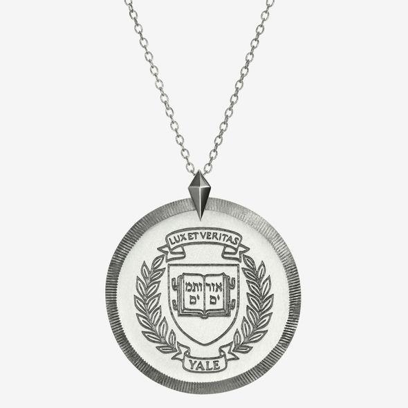 Yale Sterling Silver Florentine Necklace by Kyle Cavan - Image 2