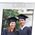Louisiana State University Polished Pewter 5x7 Picture Frame - Image 2