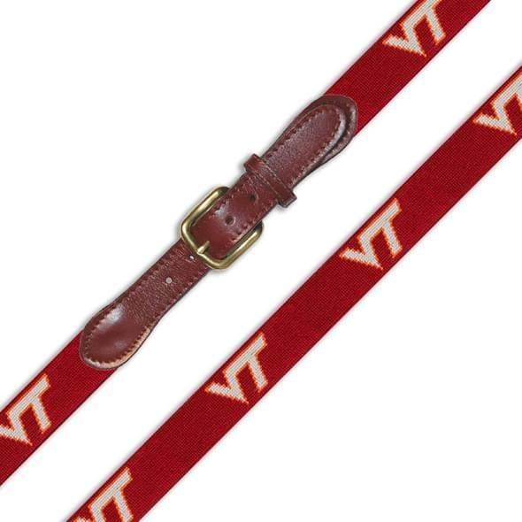 Virginia Tech Men's Cotton Belt - Image 2