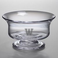 Williams College Medium Glass Revere Bowl by Simon Pearce