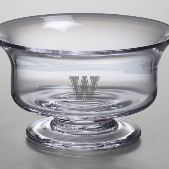 Williams College Medium Glass Revere Bowl by Simon Pearce - Image 2