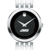 James Madison University Women's Movado Esparanza Stainless Steel Museum with Bracelet