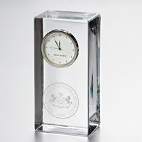 Penn State Tall Class Desk Clock by Simon Pearce