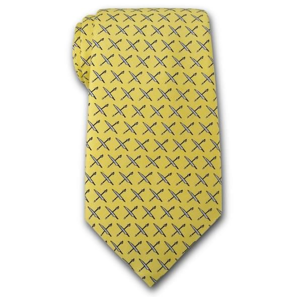 USNI Vineyard Vines Tie in Yellow - Image 2