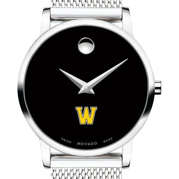Williams College Women's Movado Museum with Mesh Bracelet