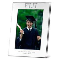 Phi Gamma Delta Polished Pewter 4x6 Picture Frame