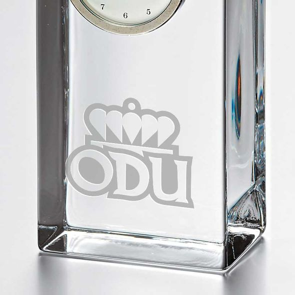 Old Dominion Tall Glass Desk Clock by Simon Pearce - Image 2