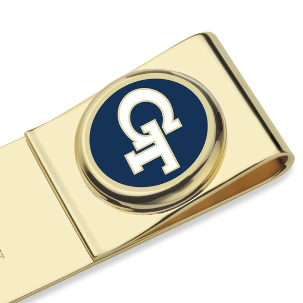Georgia Tech Enamel Money Clip - Image 2