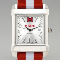 Miami University Collegiate Watch with NATO Strap for Men