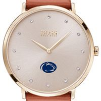 Penn State University Women's BOSS Champagne with Leather from M.LaHart