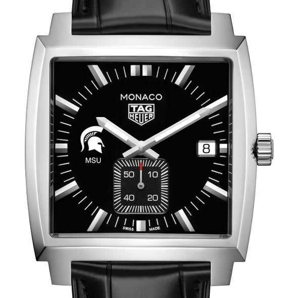 Michigan State University TAG Heuer Monaco with Quartz Movement for Men