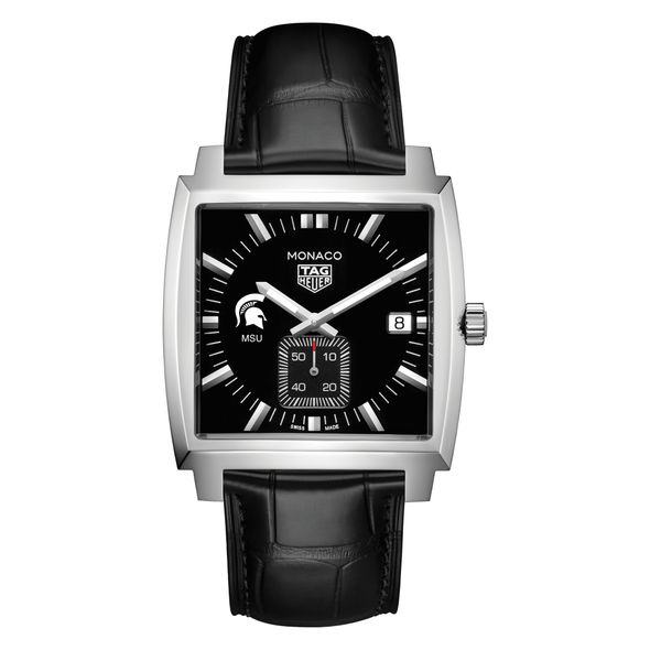 Michigan State University TAG Heuer Monaco with Quartz Movement for Men - Image 2