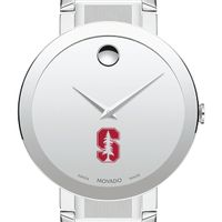 Stanford University Men's Movado Sapphire Museum with Bracelet