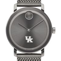 University of Kentucky Men's Movado BOLD Gunmetal Grey with Mesh Bracelet