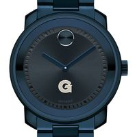 Georgetown University Men's Movado BOLD Blue Ion with Bracelet