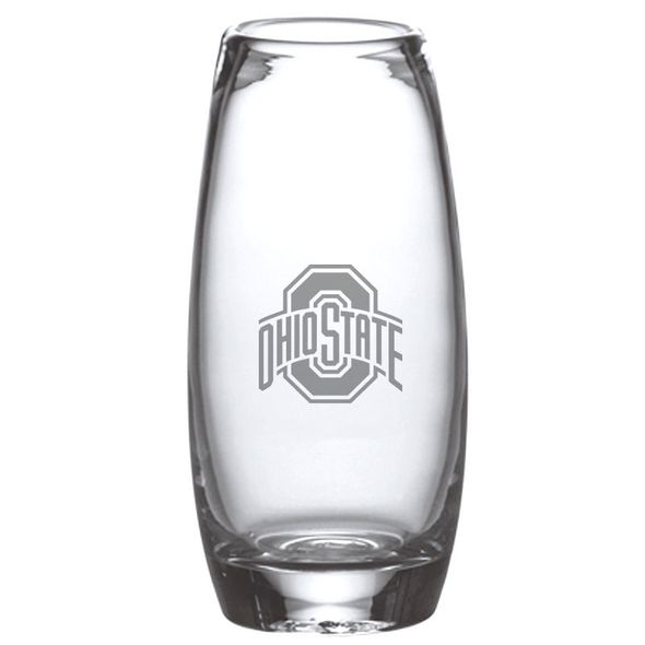 Ohio State Glass Addison Vase by Simon Pearce - Image 1