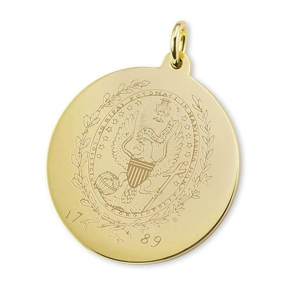 Georgetown 18K Gold Charm