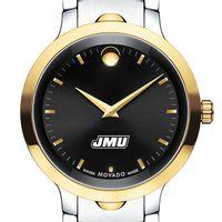 James Madison University Men's Movado Luno Sport Two-Tone