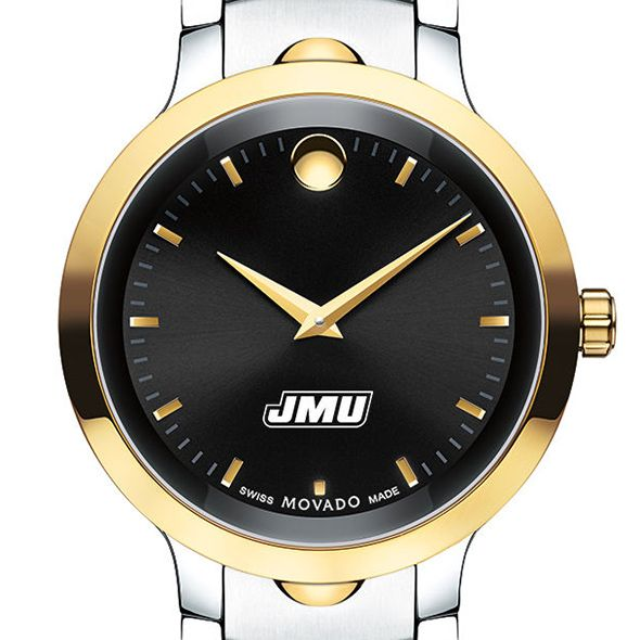 James Madison University Men's Movado Luno Sport Two-Tone