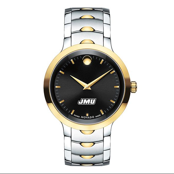 James Madison University Men's Movado Luno Sport Two-Tone - Image 2