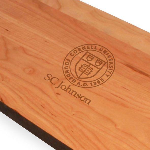 SC Johnson College Cherry Entertaining Board - Image 2
