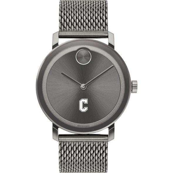 College of Charleston Men's Movado BOLD Gunmetal Grey with Mesh Bracelet - Image 2