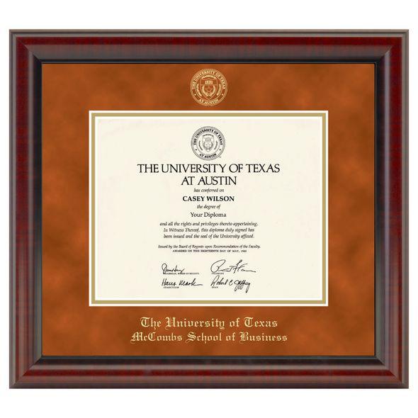 Texas McCombs Diploma Frame, the Fidelitas - Image 1