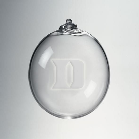 Duke Glass Ornament by Simon Pearce
